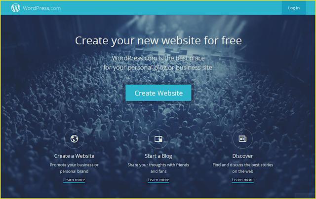Perbandingan Cara Membuat blog menggunakan Wordpress.com/Wordpress.org