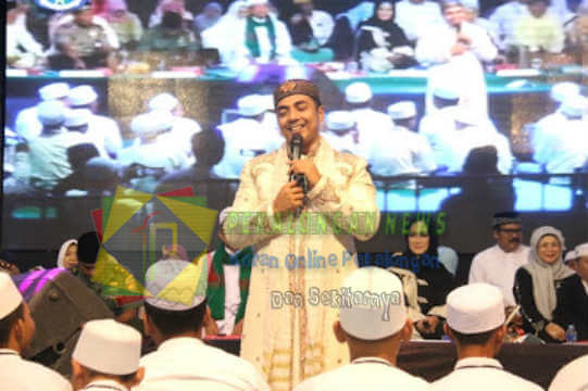 Isi Acara Maulid Nabi, Ustadz Riza Muhammad Puji Kelezatan Sate Tegal