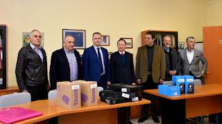 Από την Αντιπροσωπεία της ΤΑΙΠΕΙ στην Ελλάδα, δωρεά ηλεκτρονικού εξοπλισμού στο 4ο Γυμνάσιο και 4ο Λύκειο Κατερίνης