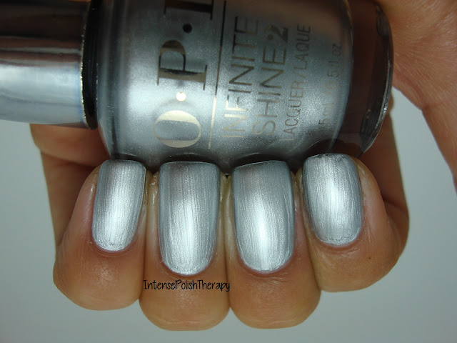 OPI - Infinite Shine - Silver On Ice