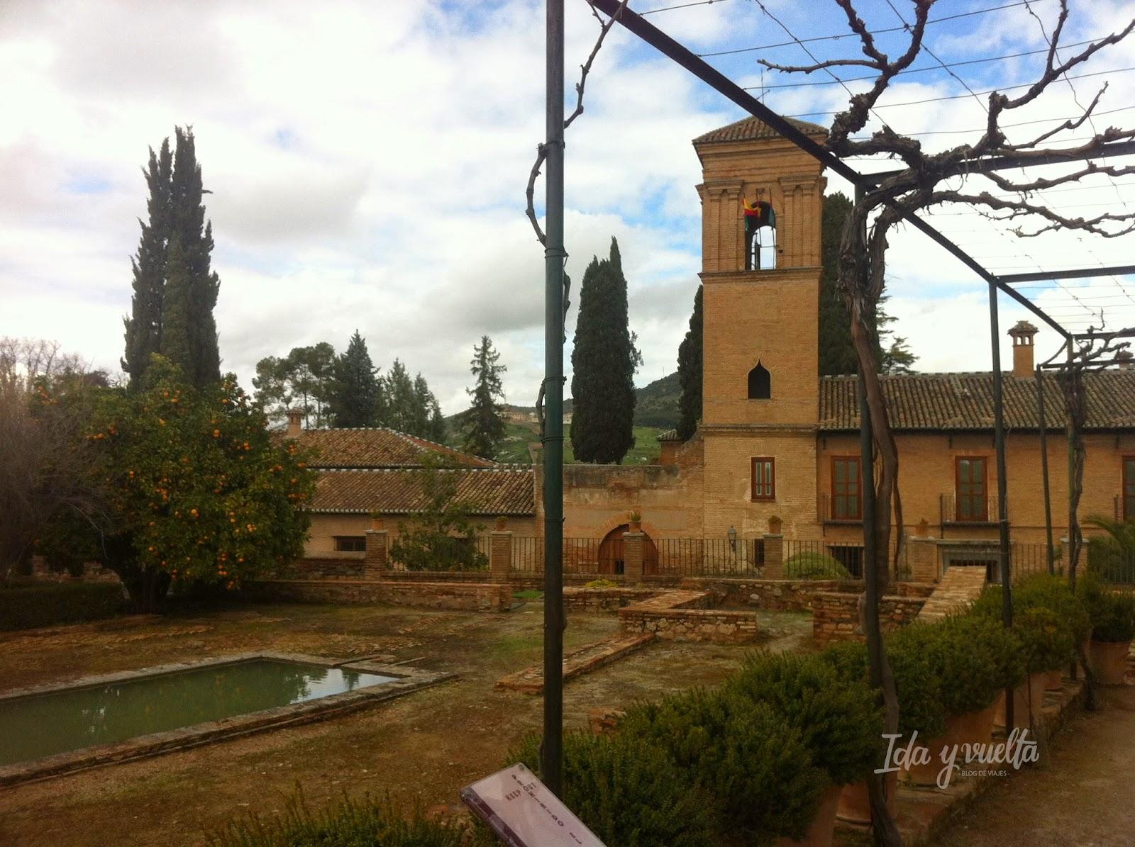 Parador en el recinto de la Alhambra
