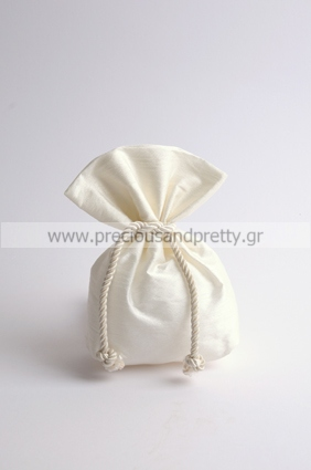 Silk wedding favor bags made in Greece