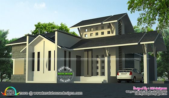 3 bedroom, 1450 sq-ft contemporary house