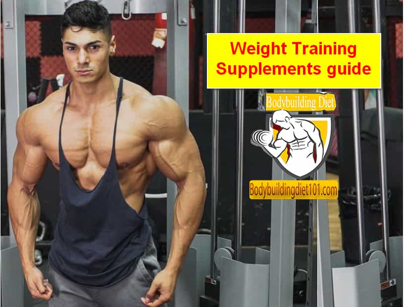 There are a lot of weight training supplements guide on the shelves of nearly any shop nowadays