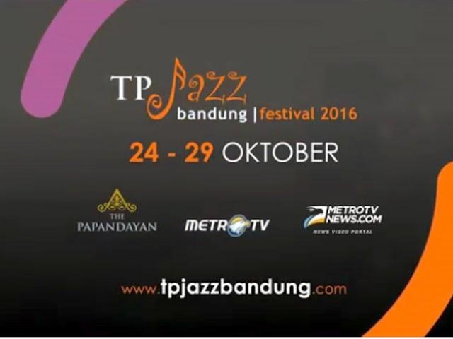 TP Jazz Bandung Festival 2016 di Hotel The Papandayan, 24-29 Oktober 2016