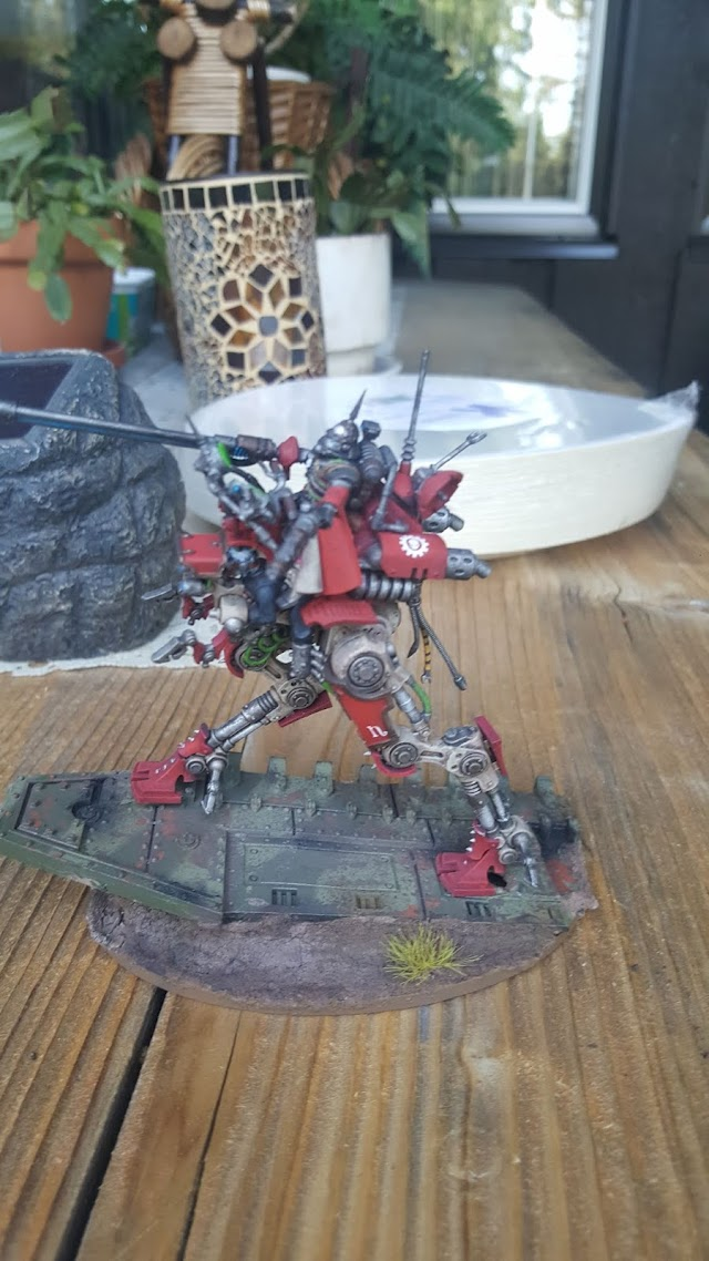 What's On Your Table: Mars Sydonian Dragoon