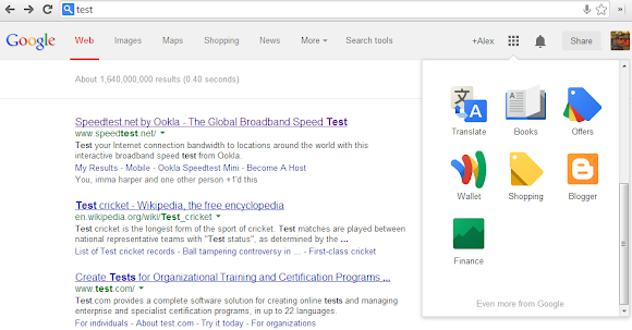 Try the New Google Search Interface in Chrome 29
