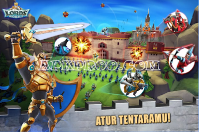 Download Lords Mobile Apk + Data Terbaru For Android Full Version Free