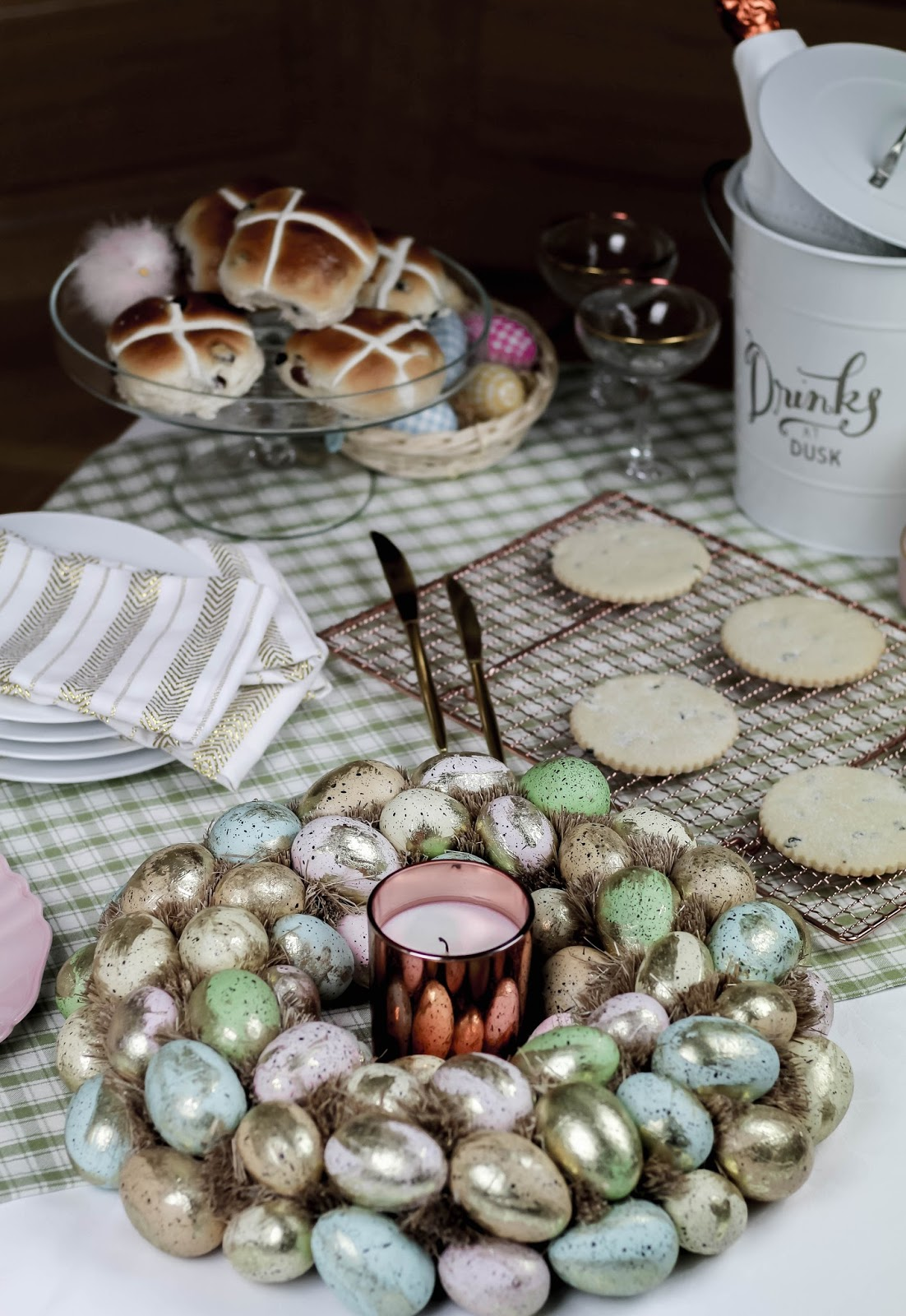 Perfect Pastel Easter Table Setting