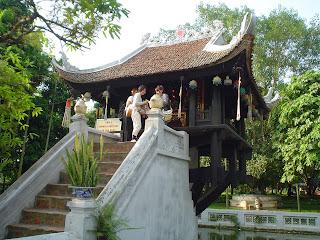 Pagoda de una sola columna
