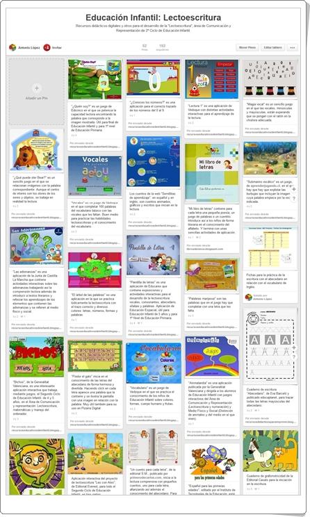 """""""Lectoescritura: Juegos, actividades interactivas y materiales educativos"""""""