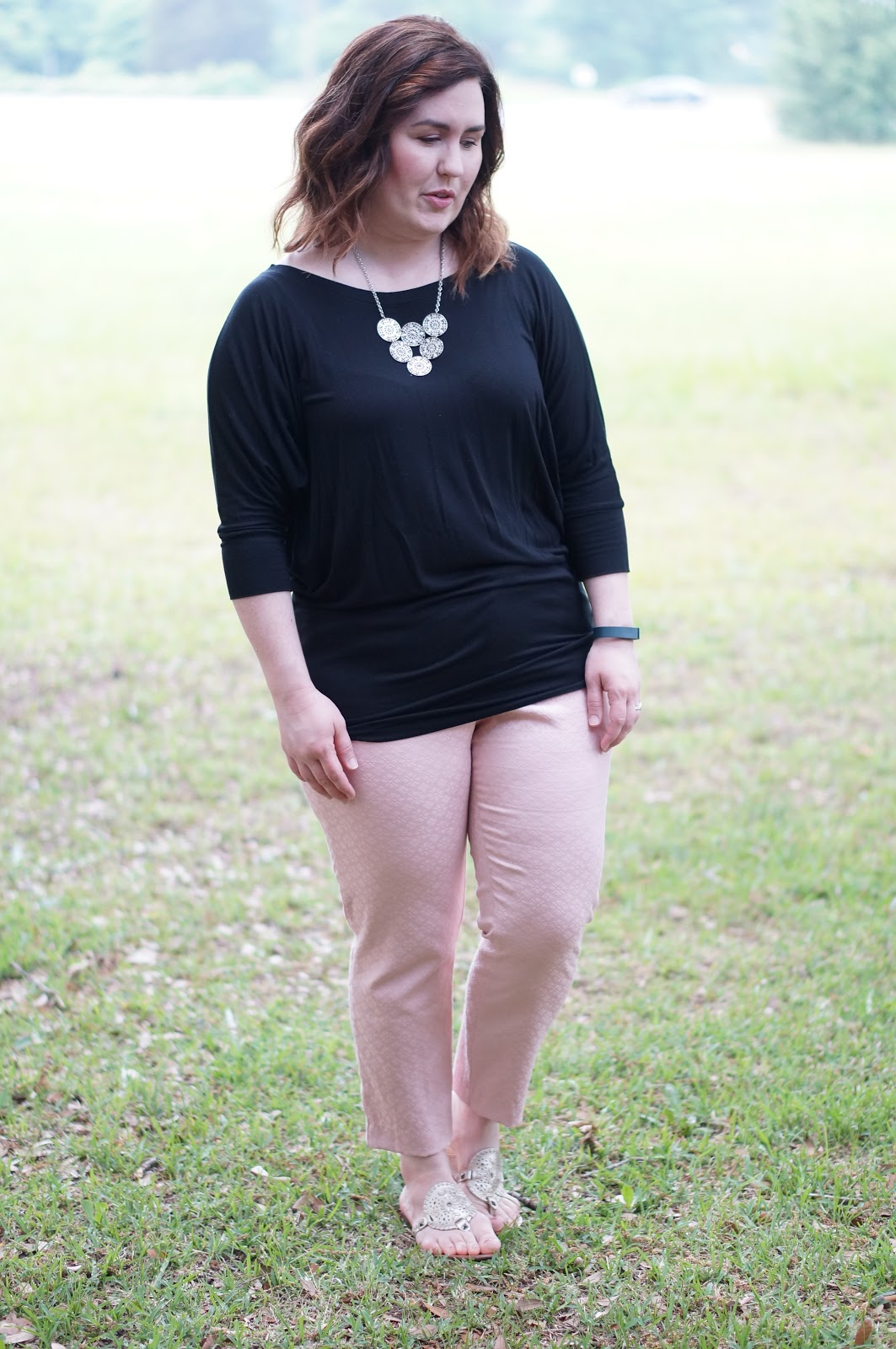 Rebecca Lately 41Hawthorn Top Stitch Fix Old Navy Pink Pixie Pants Jack Rogers Georgica Platinum