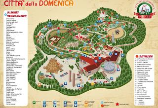 Mappa Parco Città della Domenica