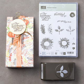 Create summer and autumn card making projects with the Painted Harvest Bundle by Stampin' Up!