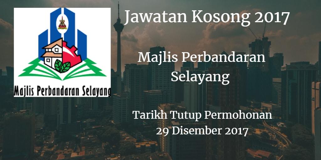 Jawatan Kosong MPS 29 Disember 2017