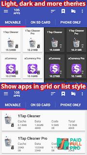 AppMgr Pro III App 2 SD Mod Lite APK