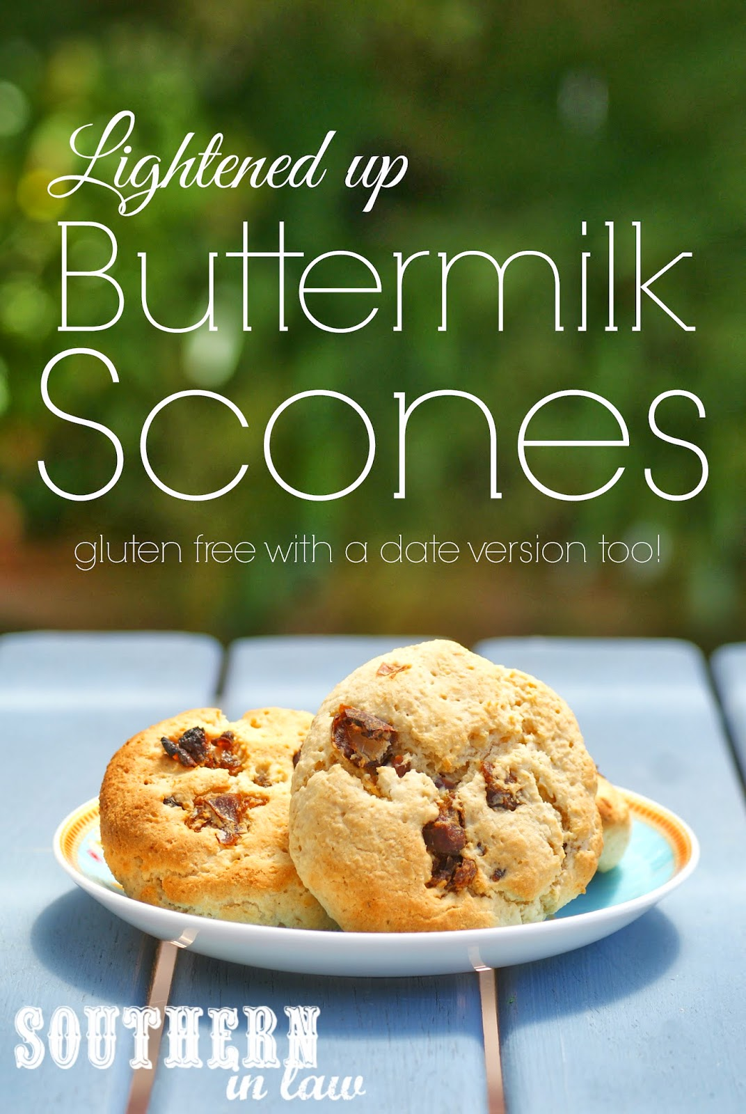 Gluten Free Buttermilk Scones - Healthy Scone Recipe