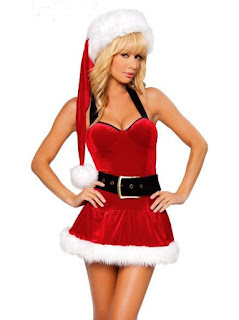 Sexy Mrs Santa Claus outfit