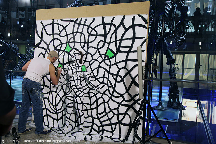 Ben Heine abstract artwork in progress