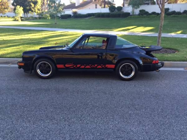 1975 porsche 911 black carrera targa buy classic volks. Black Bedroom Furniture Sets. Home Design Ideas