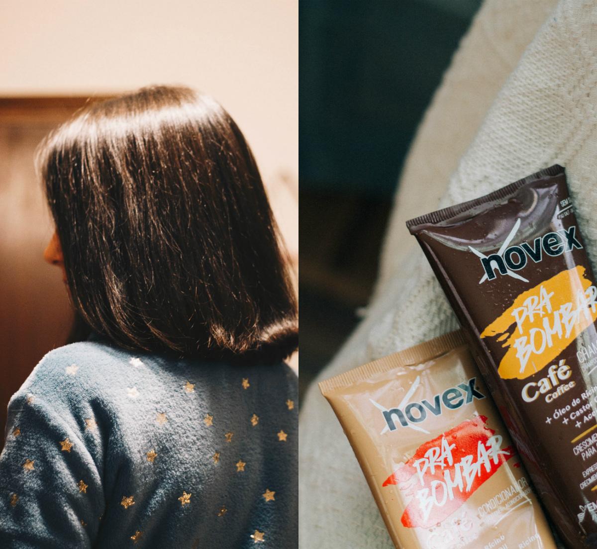 Fui desafiada pela Embelleze a experimentar a nova linha Pra Bombar Café da Novex e, com o uso contínuo, partilhar o antes e depois do meu cabelo. Mais de três meses depois, cá estou eu com uma opinião formada e resultados para mostrar. Continuem a ler para saberem mais sobre a linha que promete um crescimento expresso para o cabelo!