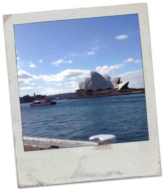 Autumn in Sydney Australia - The Opera House from Circular Quay