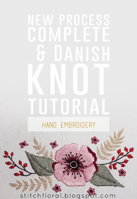 New process complete and Danish knot tutorial
