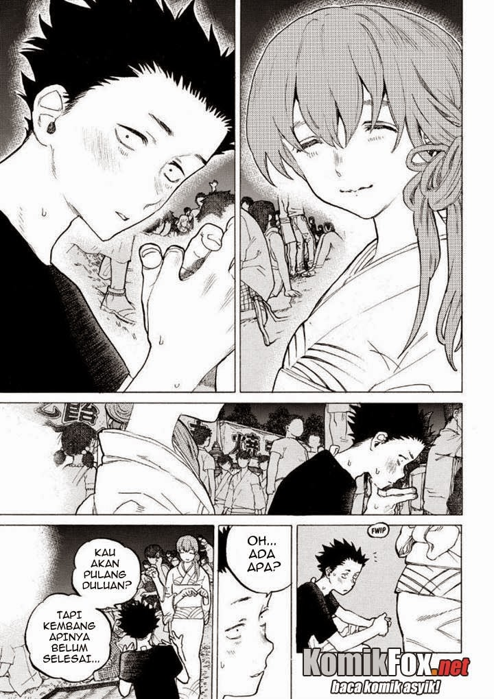 Koe no Katachi Chapter 42-3