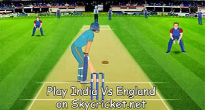 Play India Vs England Game Online