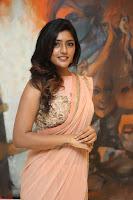 Eesha Rebba in beautiful peach saree at Darshakudu pre release ~  Exclusive Celebrities Galleries 028.JPG