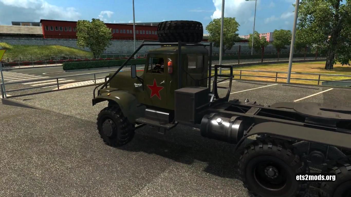 Truck – Kraz 255 [Updated for 1,27]