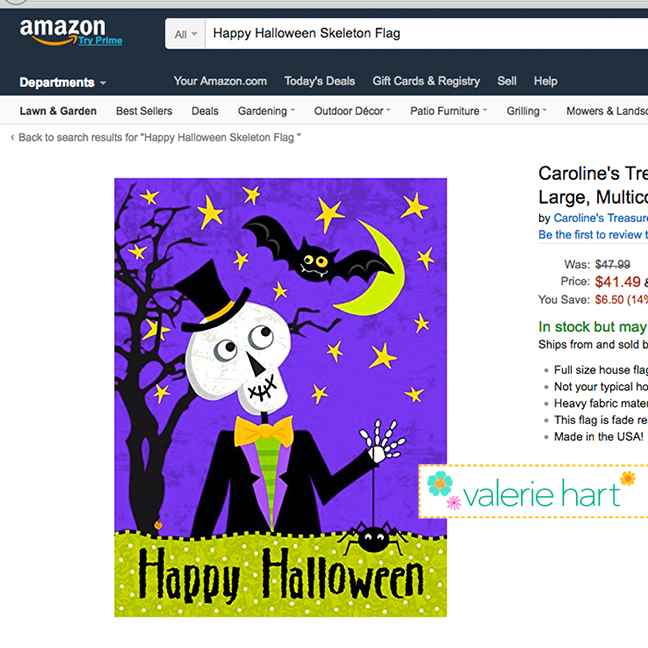 https://www.amazon.com/Carolines-Treasures-VHA3014CHF-Halloween-Multicolor/dp/B01L2X1CTQ/ref=sr_1_4?ie=UTF8&qid=1474474817&sr=8-4&keywords=Happy+Halloween+Skeleton+Flag