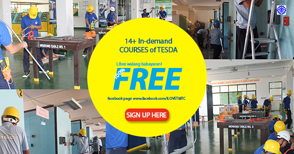 14+ In-Demand Courses of Tesda (FREE TRAINING)