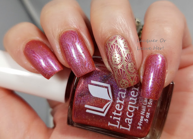 Literary Lacquers Porco Rosso + MoYou London Steampunk collection 07