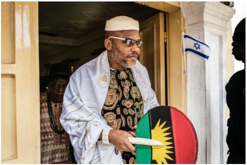 """There Was No Attack"" – Police React To News Of Soldiers 'Storming Nnamdi Kanu's House"