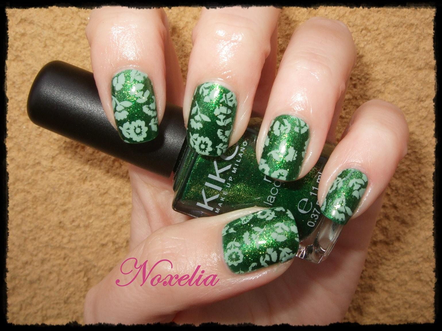 Noxelia: Stamping nail art: Colaboración con NurBesten IX y Look de ...
