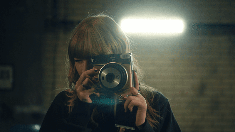 Fujifilm features Taylor Swift on new Instax camera