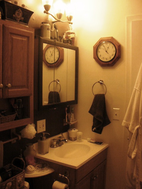 Small Moments:  Bathroom Before