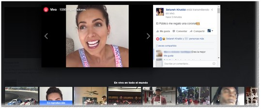 Ver video en Facebook Live - MasFB