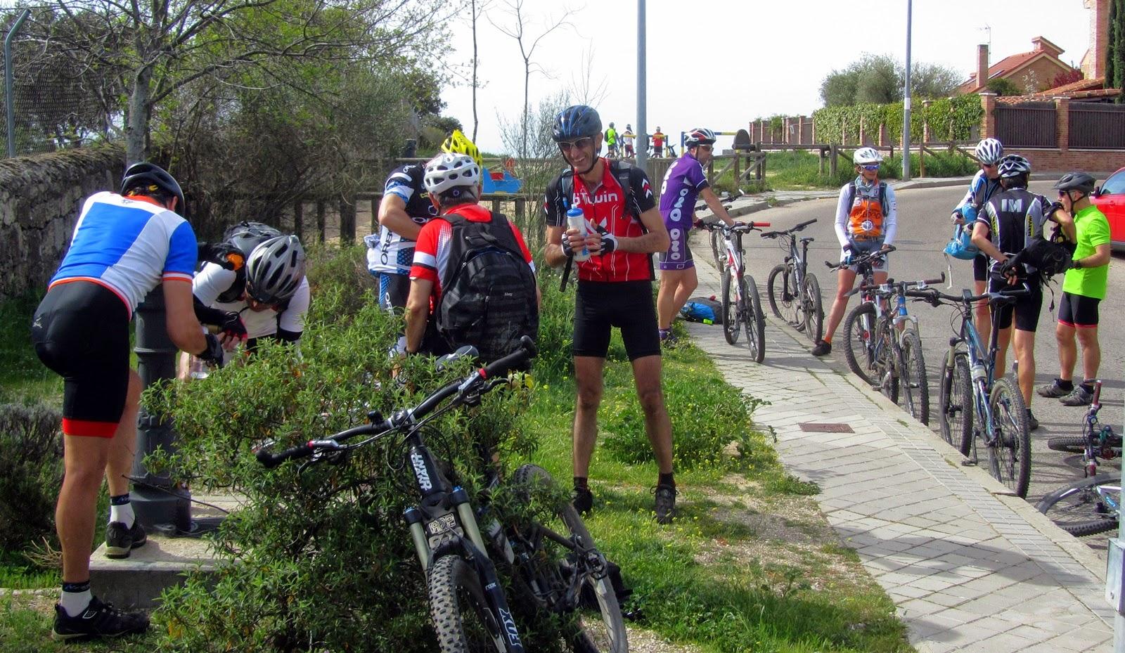 MTB con AlfonsoyAmigos