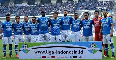 Starter Persib Bandung Liga 1 2018