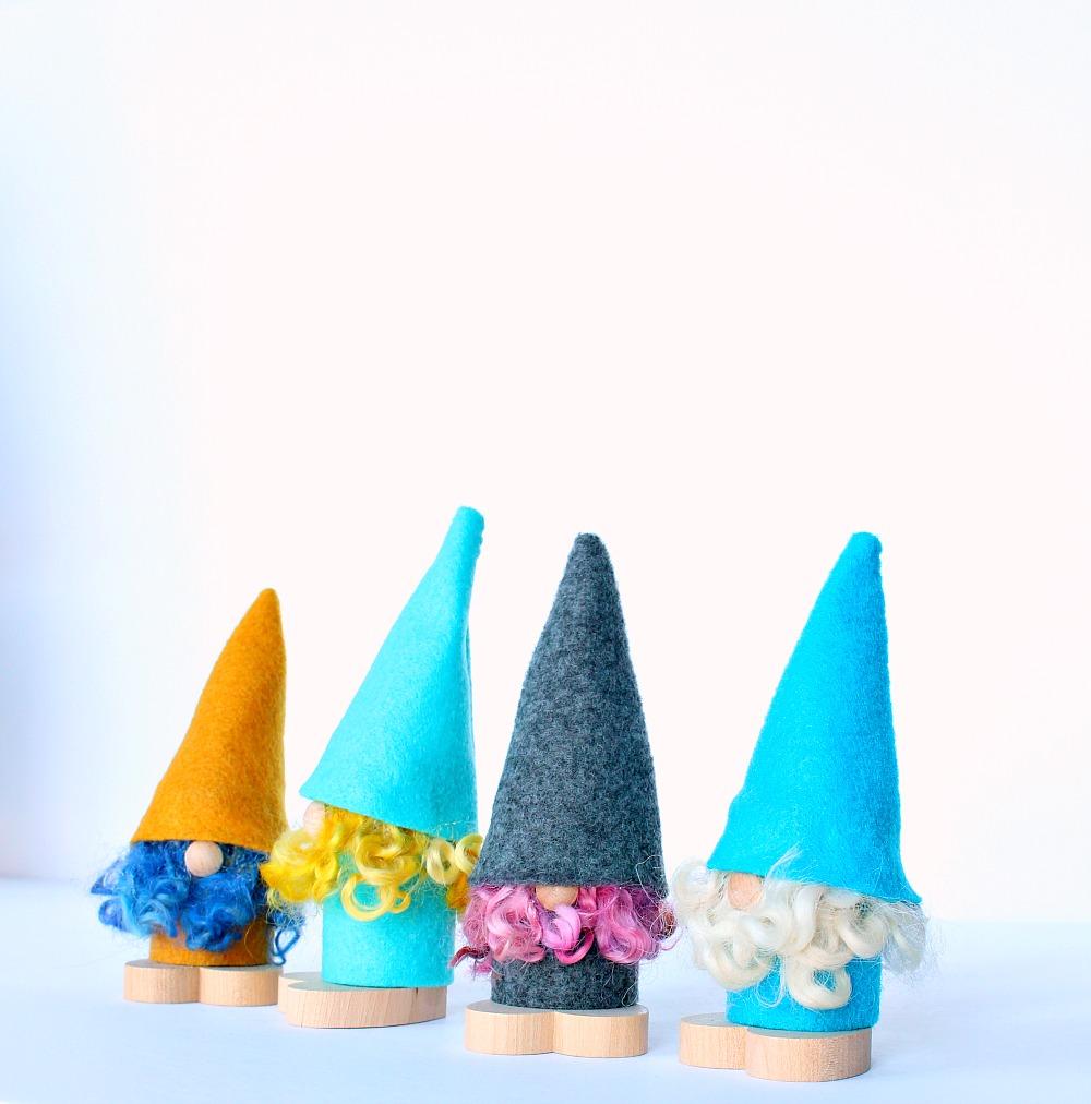 DIY Felt Tomte (Scandinavian Gnomes)