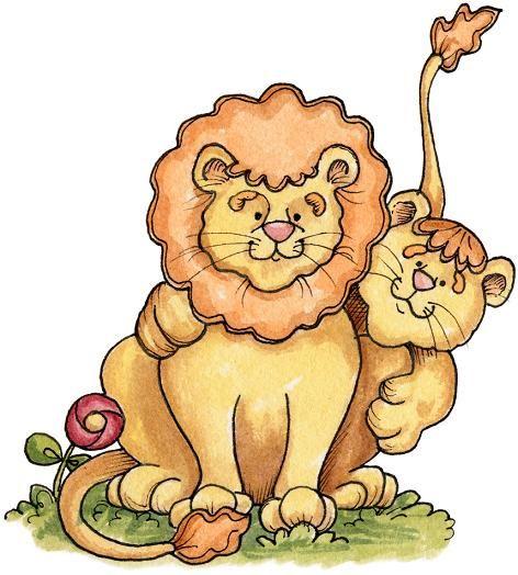 leones animado