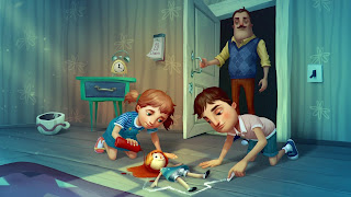 Hello Neighbor Hide and Seek PS3 Background
