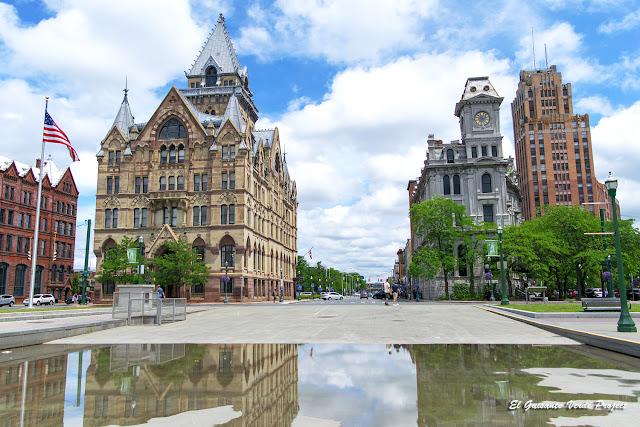 Clinton Square - Syracuse, NY por El Guisante Verde Project