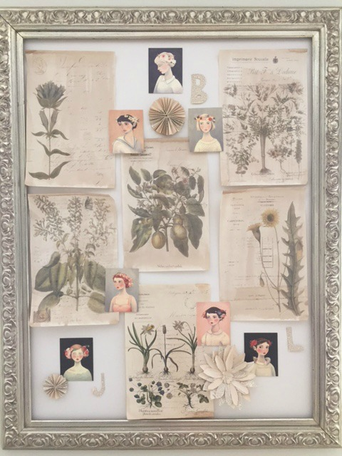 Inspiration board by Hello Lovely Studio