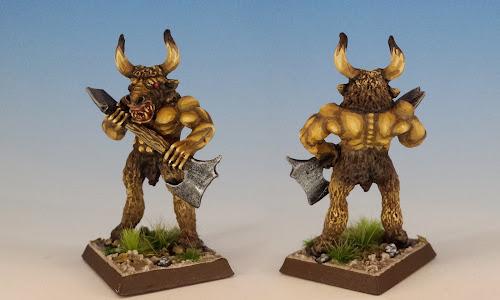 Bludbrag Battlebreath, C25 Minotaurs, Citadel Miniatures (1986, sculpted by Bob Naismith)