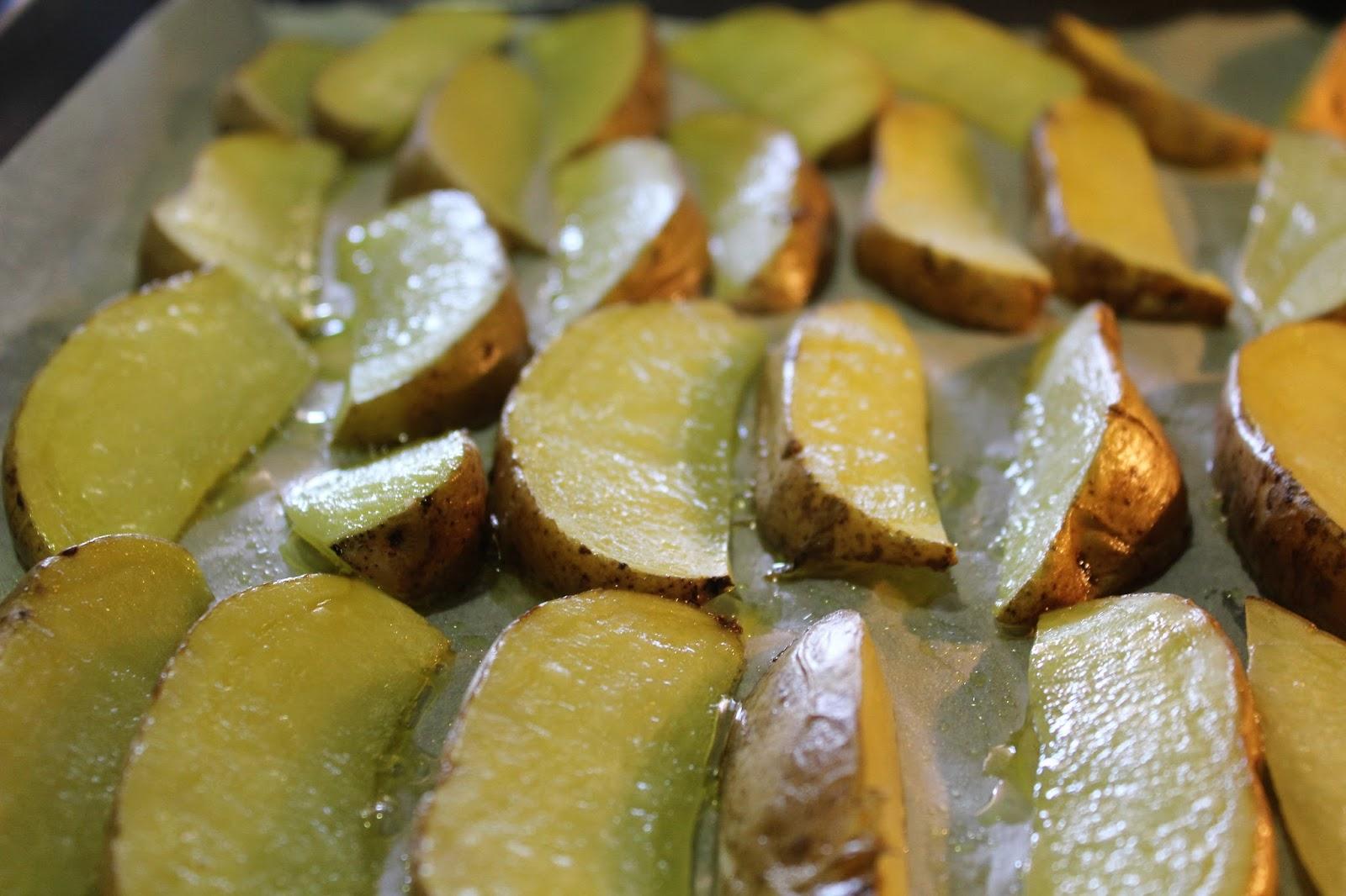 Patata Porner las gambas también cocinan: patatas deluxe al horno (o rusticas)