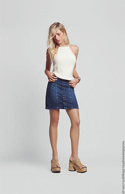 Moda verano 2017 faldas de moda mujer. Moda verano 2017.