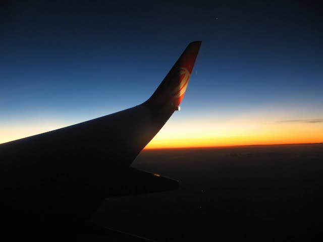 Voo noturno para Barcelona
